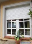 rolety kompaktowe beclever okna szpros naklejany zewnętrzny 40mm rolety elektryczne sterowanie automatyczne silniki ilmo