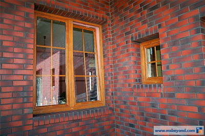 okna pcv ze szprosami międzyszybowymi